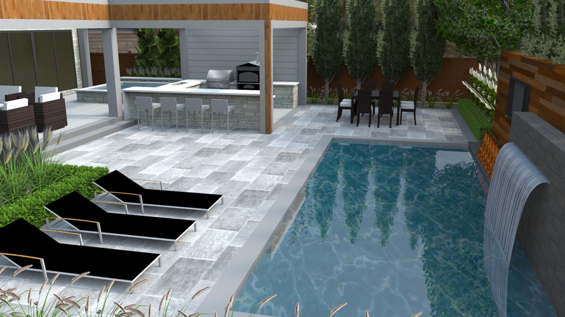 Lakeshore meg kennedy landscape design firm for Landscape design firms